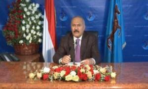 Ali Abdullah Saleh in his TV address on July 28th, 2016 in Sana´a