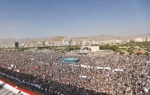 Sana´a, 21st September, 2017: Manifestation at the 3rd Anniversary of the conquest of  Sana´a by the  Houthis
