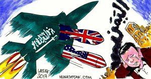 Jemeniten, ob im Süden oder Norden, tendieren dazu, als Verursacher ihrer miserablen Lage Saudi Arabien und die Bombenlieferanten USA und Großbritannien festzumachen.